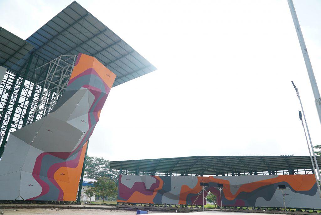 Wall climbing Jakabaring Sport City