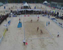 beach volleyball Jakabaring Sport City