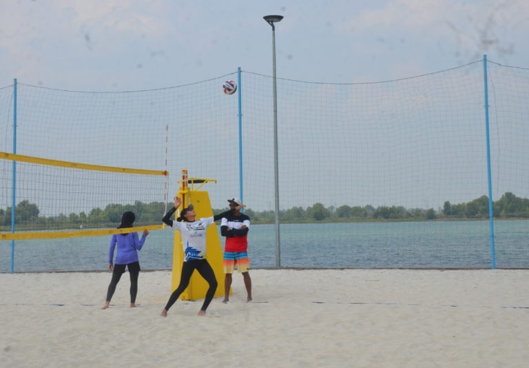 Kejurnas Voli Pantai Beach Volleyball Jakabaring Sport City